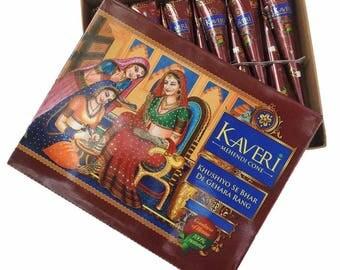 Kaveri Mehandi Natural Henna Loose cones