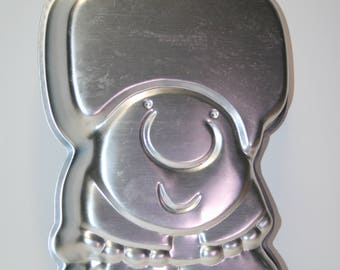 Wilton cake pan:  Ziggy; 1970's