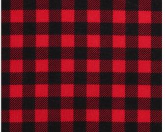 Red buffalo sheet or changing pad cover, buffalo plaid, red and black, hunting, baby boy, lumberjack, woodland nursery
