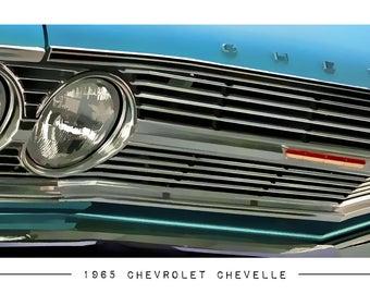1965 Chevrolet Chevelle Poster