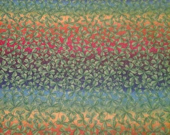 St Patrick's Day Fabric  1 yard Cotton