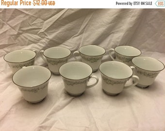 Lot of 8 Vintage Noritake Donegal china Tea/coffee cups