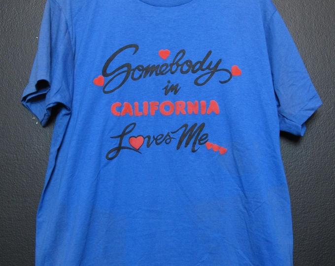 Somebody in California Loves Me Vintage Tshirt