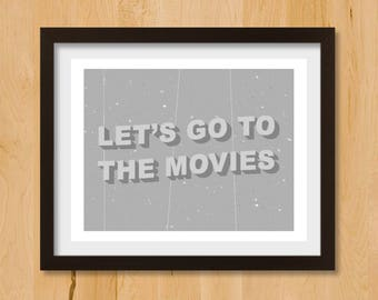 Home theater decor | Etsy