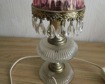 Cabinet lamp with bubble