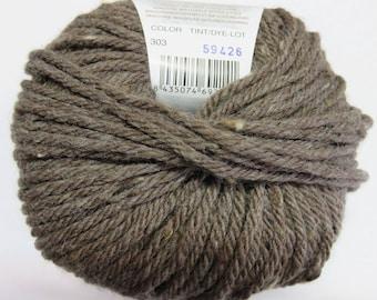 Katia dark brown Merino Wool.