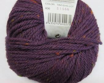 Katia purple tweed Merino Wool.
