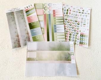 Breeze - March - Monthly spread planner stickers - 4pages - Erin Condren - Plum Paper - Kikki K - Paperchase - Filofax