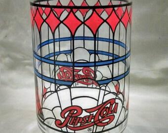 Pepsi cola glass bottle 12 ounce long thin neck antique 1950s vintage pepsi cola glass sciox Image collections