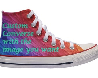 Custom Converse / Custom shoes / the image you want