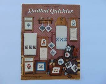 Quilted Quickies Cross Stitches by Canterbury Designs