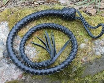 Premium Leather Whip