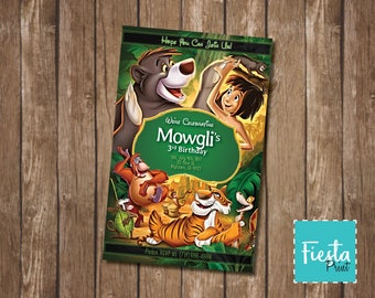 """Personalized """"The Jungle Book - 1994 Movie"""" Party Invitation Ready to Print/Text/Email"""