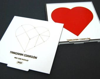 Tangram heart methacrylate