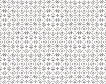 White Chain Quilt Fabric - Daisy Days - Riley Blake Designs - Keera Job - C6286