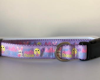 Cute Chick Easter 1 inch Collar
