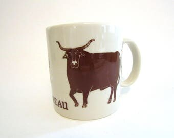 Taylor & Ng Le Taureau The Bull  Brown Mug 1979