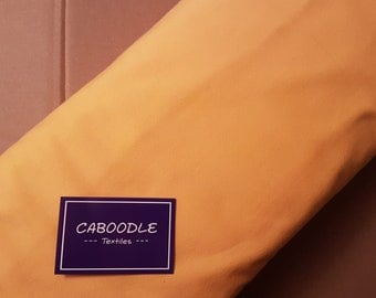 Yellow, Cotton Lycra Jersey Knit Fabric