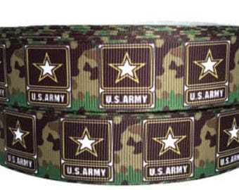 """United States Army Logo Dog Collar - Side Release Buckle (1"""" Width)"""