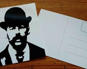 H.H. HOLMES Postcard
