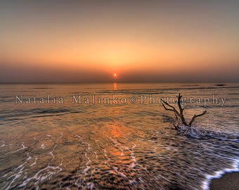 Sunrise. Digital image, pic, instant download. Screen saver, wallpaper for PC, Mac.