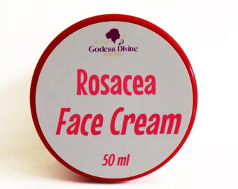 Rosacea, Rosacea Cream, Face Cream, Face Lotion, Lotion, Natural Lotion, Homemade Lotion, Chamomile, Neroli, Helichrysum, Carrot Seed Oil