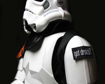 Star Wars Stormtrooper Sandtrooper Imperial TD TK The Empire Strikes Back Got Droids? 501st Patch with Velcro