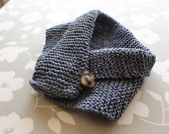 Handmade knit collar for kids