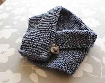 Handmade knit collar for kids