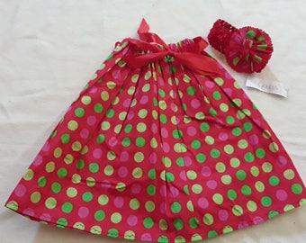 Skirt and headband 4 years
