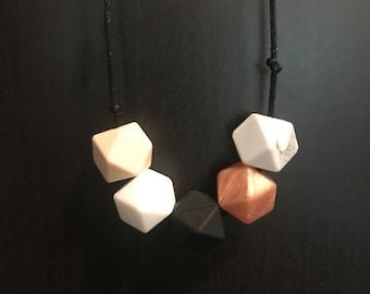 Silicone necklace - mum jewellery