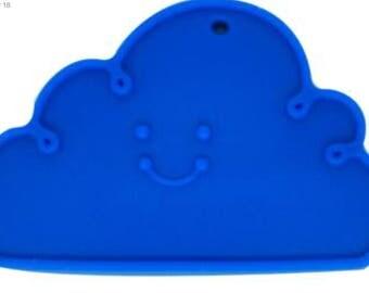 Cloud pierced Silicone teether