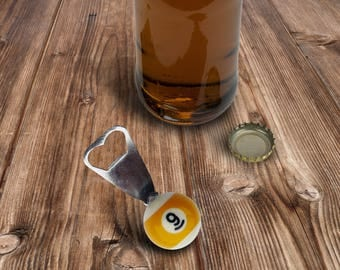 Father's Day Gift - Bottle Opener - 9 Ball