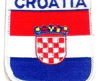 Croatia Embroidered Patch