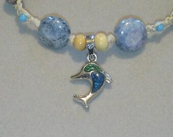 Dolphin Totem Hemp Bracelet