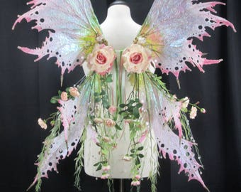 Gorgeous Vintage Water Fairy Wings - Ready to Ship