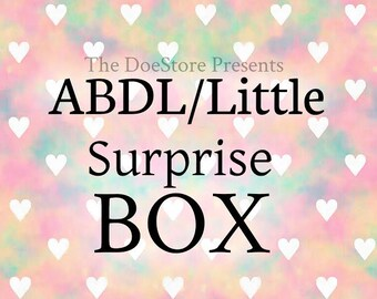 ABDL / Little / DDLG Surprise Box Package (Size Small)