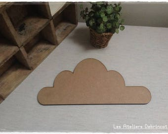 Pretty cloud blank tall 13.7 cm thickness 6 mm