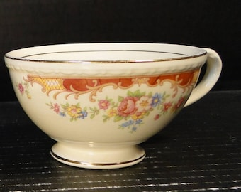 Homer Laughlin Eggshell Georgian Belmont Tea Cup EXCELLENT