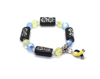 Down Syndrome Jewelry - Down Syndrome Awareness - Down Syndrome Bracelet - Down Syndrome Charm Bracelet - Down Syndrome - DS Awareness