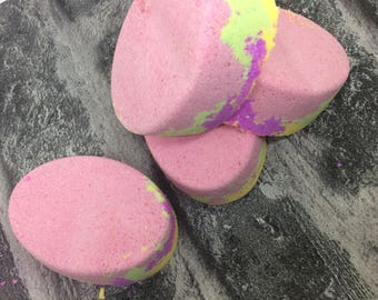 UNICORN handmade bath bomb , Natural bath bombs , birthday , gift , pamper