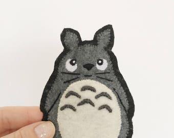Totoro  Patch | My Neighbor Totoro Patch | Totoro Patch | Studio Ghibli Patch | Anime Patch| Miyazaki Patch | Kwaii Patch |