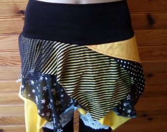 """""""yellow graphik"""" sarah skirt size S"""