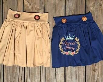 Custom Back to School Uniforms Girls Skirts Navy Blue Khaki Kindergarten 1st Grade 2nd Grade 3rd grade