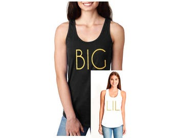 Big Little Sorority Shirts, Big Lil Sorority Reveal, big little shirts, big little tanks, sorority shirts, sorority tanks, big sis, lil sis