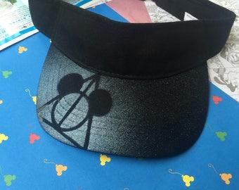 Mickey deathly hallows visor
