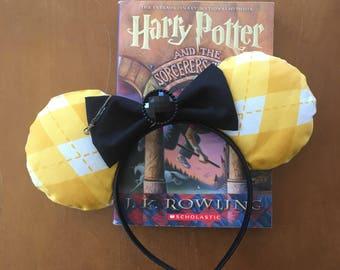 Magical Hufflepuff Harry Potter Mouse Ears!