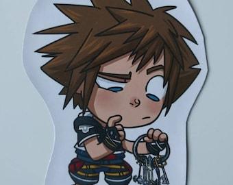 Kingdom Hearts - Sora magnet