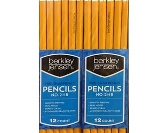 Berkley Jensen HB #2 Pencils, 96 Count