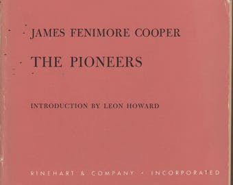 The Pioneers by James Fenimore Cooper (Rinehart Editions No. 99)